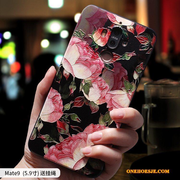 Hoesje Voor Huawei Mate 9 All Inclusive Hoes Telefoon Bescherming Siliconen Persoonlijk