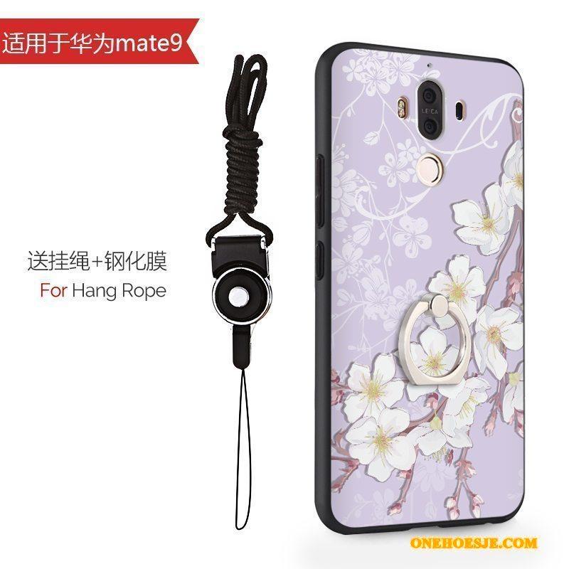 Hoesje Voor Huawei Mate 9 All Inclusive Spotprent Hard Bescherming Siliconen