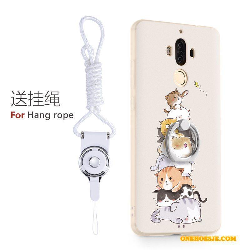 Hoesje Voor Huawei Mate 9 Bescherming Mooie Telefoon Ring Siliconen All Inclusive