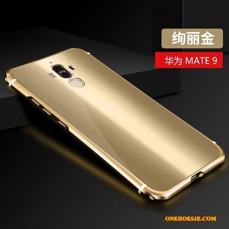 Hoesje Voor Huawei Mate 9 Hoes Telefoon Scheppend Anti-fall Trend Metaal