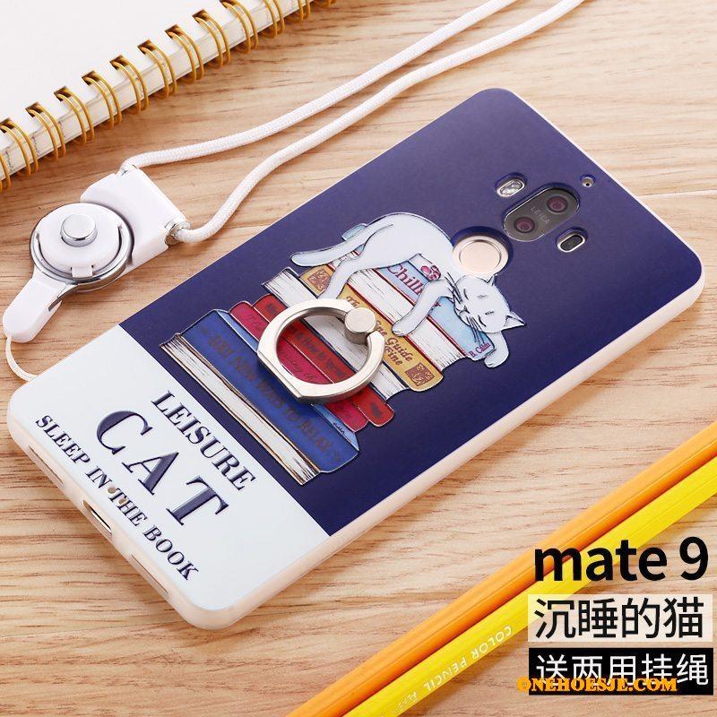 Hoesje Voor Huawei Mate 9 Scheppend Hoes Telefoon Persoonlijk Siliconen All Inclusive