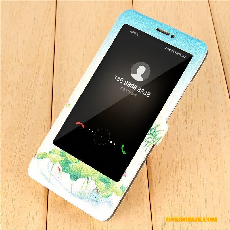 Hoesje Voor Huawei Mate 9 Scheppend Spotprent Bescherming Telefoon Clamshell