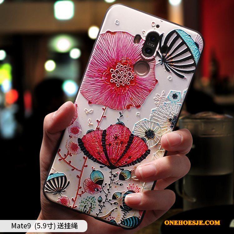 Hoesje Voor Huawei Mate 9 Telefoon Scheppend Bescherming Anti-fall Siliconen Zacht