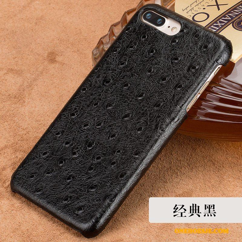 Hoesje Voor Lg G5 Achterklep Luxe Echt Leer Telefoon Hard Scheppend