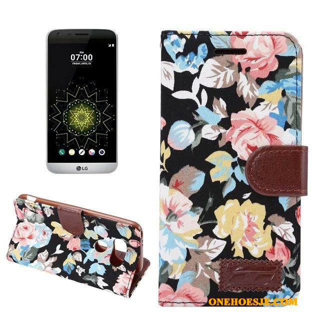 Hoesje Voor Lg G5 Kleur Folio Mobiele Telefoon Zacht Hoes Bescherming