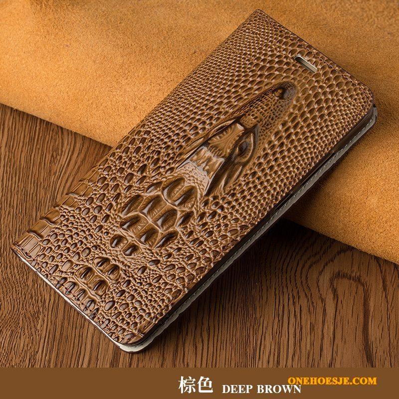 Hoesje Voor Lg G5 Pas Folio Telefoon Zwart Dun Bescherming