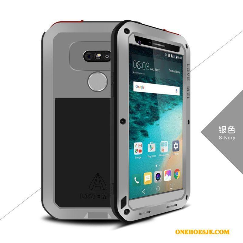 Hoesje Voor Lg G5 Persoonlijk All Inclusive Telefoon Drie Verdedigingen Bescherming