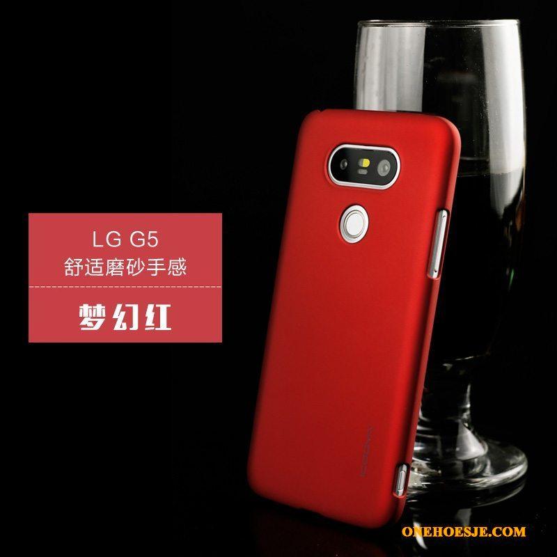 Hoesje Voor Lg G5 Schrobben Dun Groen Hoes Bescherming Telefoon