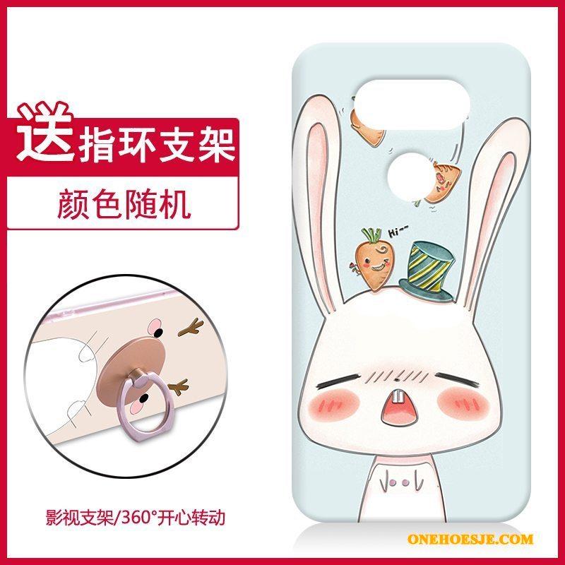 Hoesje Voor Lg G5 Schrobben Spotprent Dun Hoes Mobiele Telefoon Hard