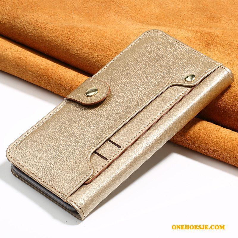 Hoesje Voor Lg G5 Trendy Merk Telefoon All Inclusive Echt Leer Luxe Bescherming