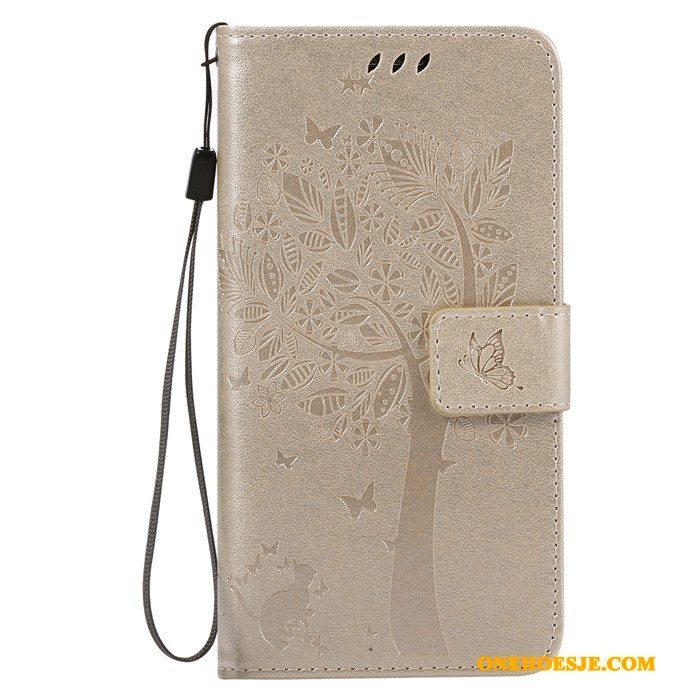 Hoesje Voor Lg G5 Zacht Bescherming Roze Clamshell Leren Etui Telefoon