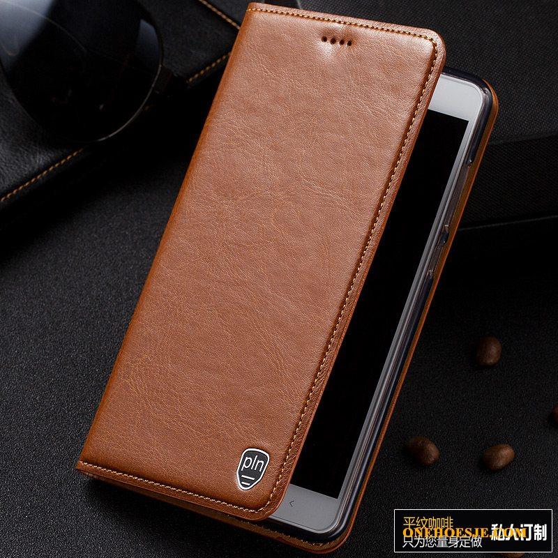 Hoesje Voor Samsung Galaxy A20e Anti-fall All Inclusive Leren Etui Folio Patroon Rood