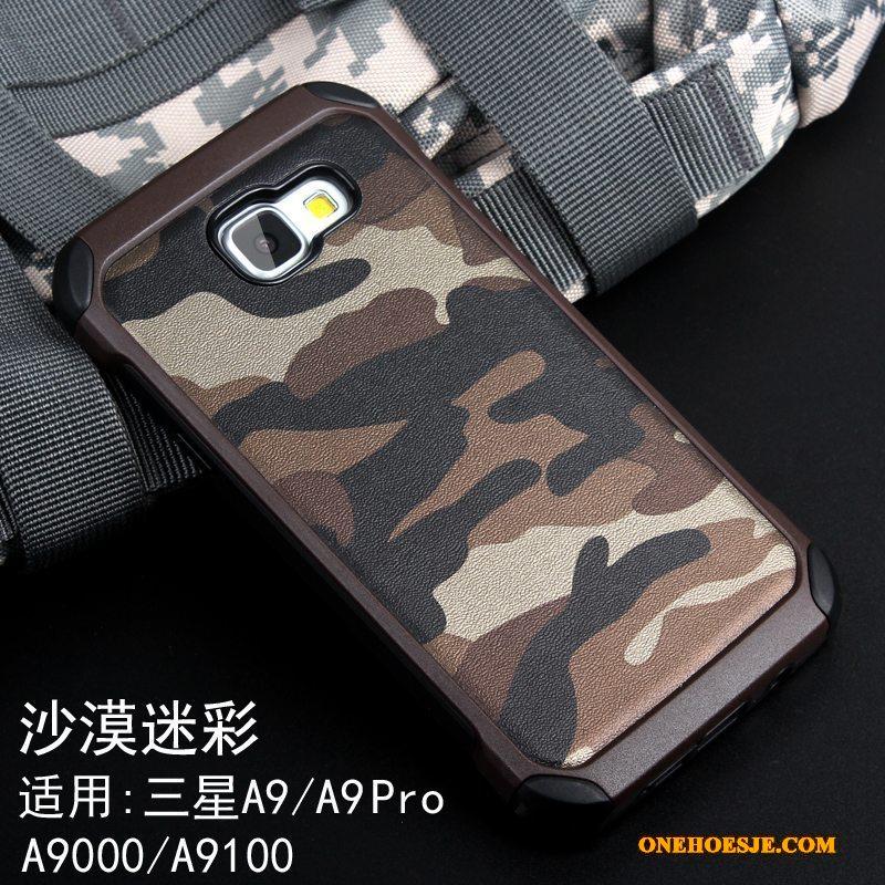 Hoesje Voor Samsung Galaxy A9 Hoes Bescherming Scheppend Anti-fall Groen