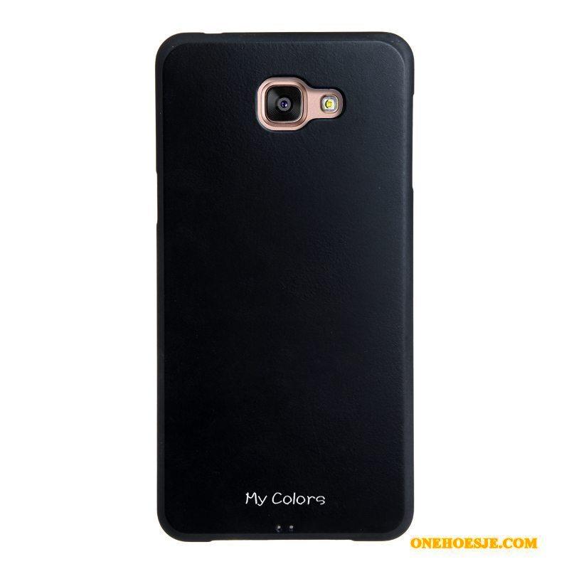 Hoesje Voor Samsung Galaxy A9 Ster Bescherming Zacht Kunstleer Bedrijf Telefoon