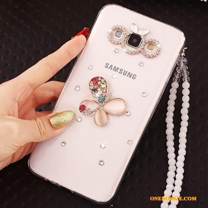 Hoesje Voor Samsung Galaxy J5 2015 Anti-fall Hoes Siliconen Zacht Bescherming
