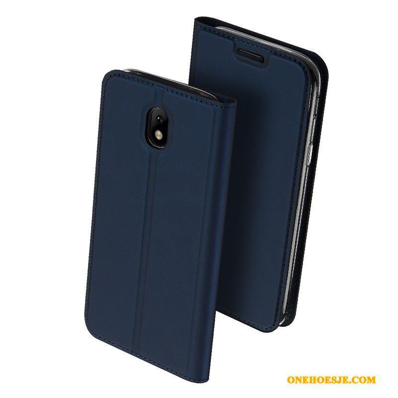 Hoesje Voor Samsung Galaxy J5 2017 Ster Bedrijf Anti Fall Hoes