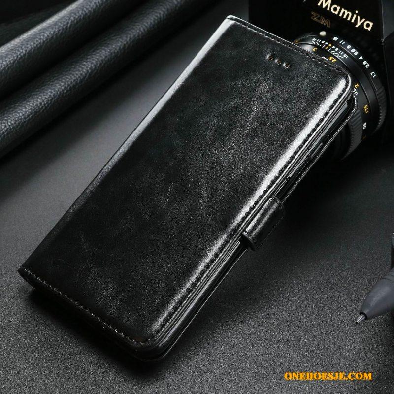 Hoesje Voor Samsung Galaxy Note 8 Echt Leer Ster All Inclusive Leren Etui Kleur