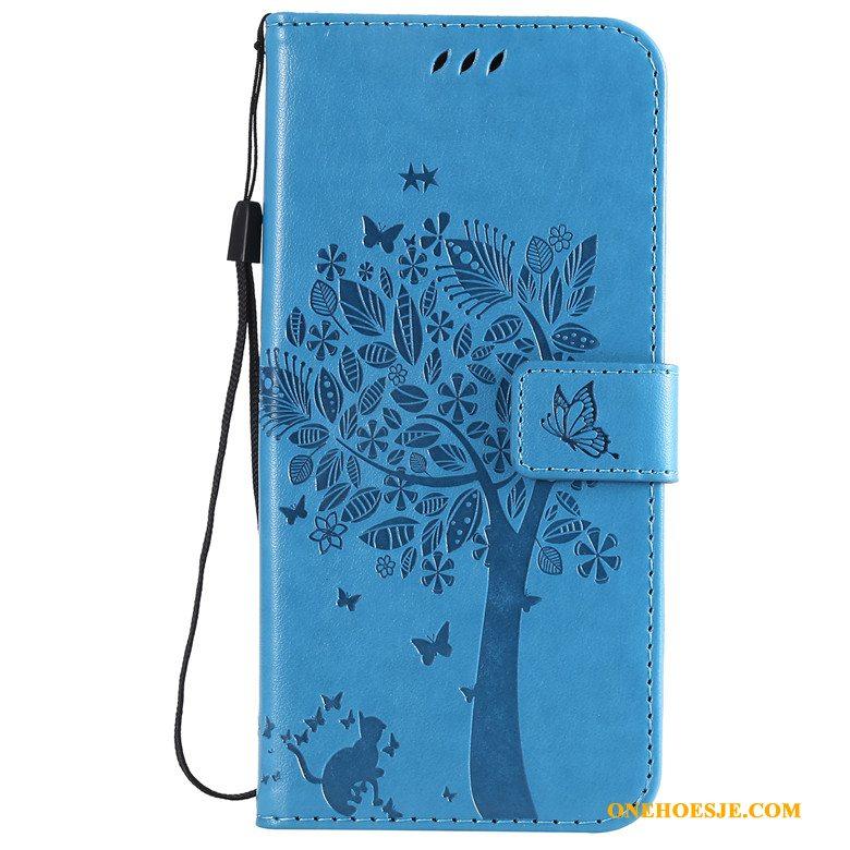 Hoesje Voor Samsung Galaxy S10+ Bescherming Telefoon Roze Folio Ster