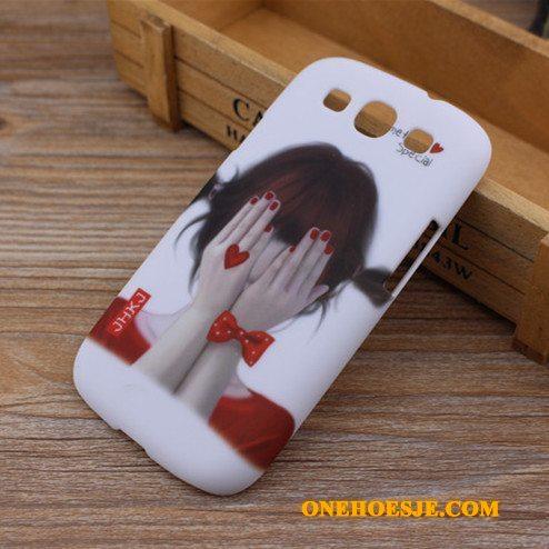 Hoesje Voor Samsung Galaxy S3 Bescherming Schrobben Hard Mobiele Telefoon Spotprent Hoes