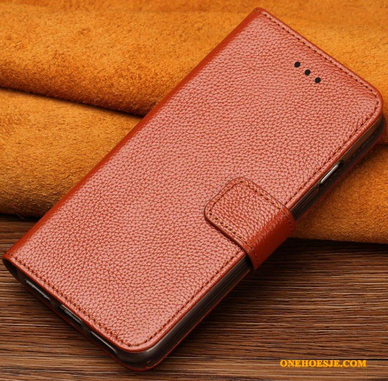 Hoesje Voor Samsung Galaxy S6 Edge Telefoon Goud Luxe Trend Bescherming Pas