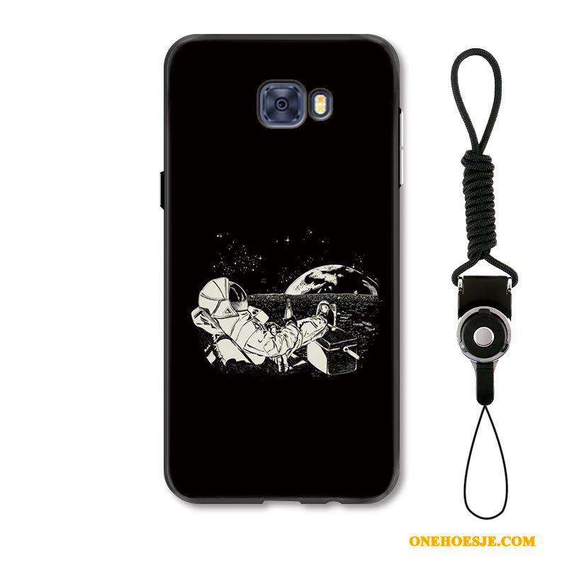 Hoesje Voor Samsung Galaxy S7 Edge Telefoon Scheppend Persoonlijk Sterrenhemel Bescherming Anti-fall