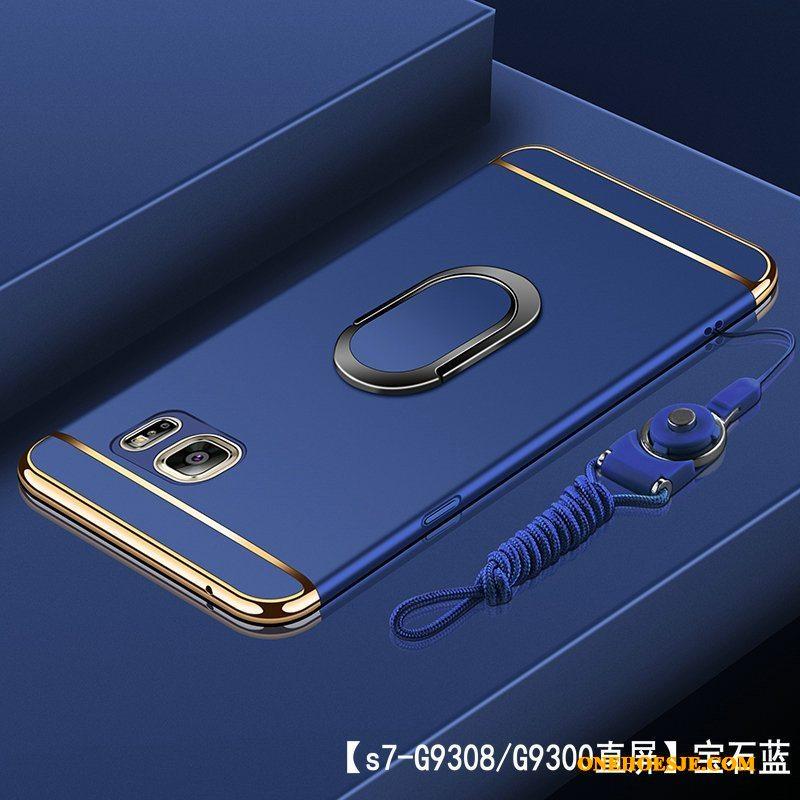 Hoesje Voor Samsung Galaxy S7 Hard Anti-fall Roze All Inclusive Telefoon