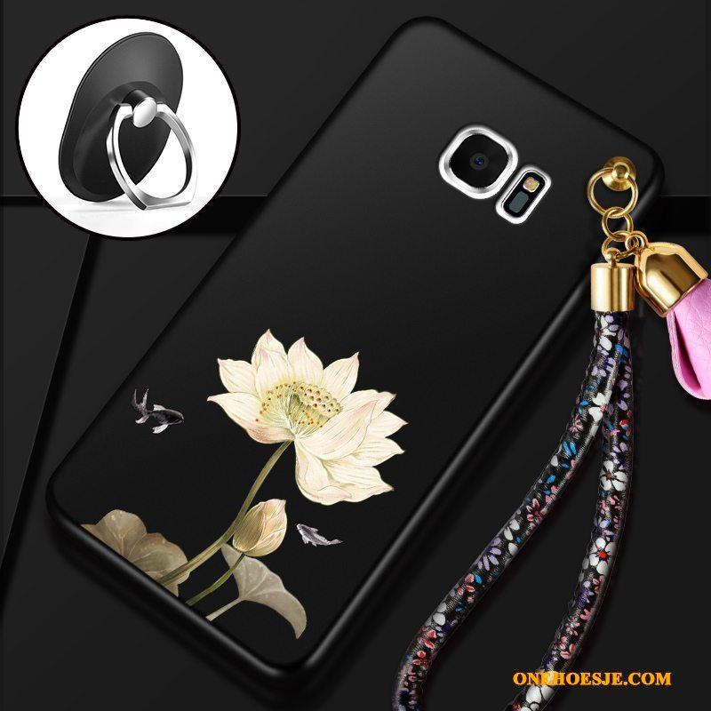 Hoesje Voor Samsung Galaxy S7 Mobiele Telefoon Hoesje Telefoon Schrobben Ster Rood