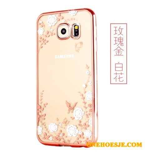 Hoesje Voor Samsung Galaxy S7 Mobiele Telefoon Ster Zacht Ring Doorzichtig Hoes