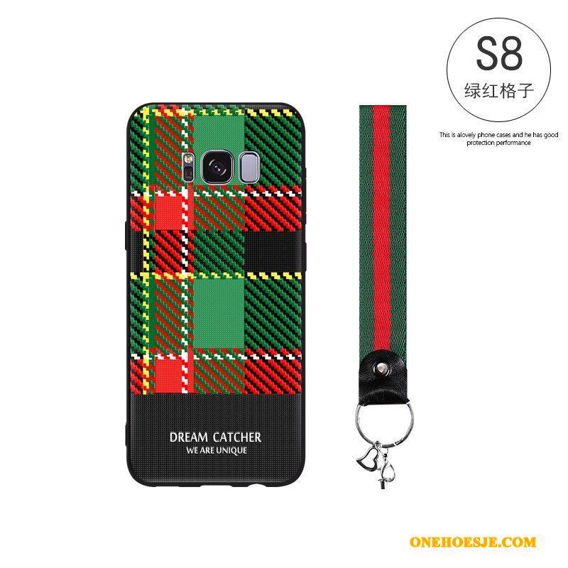 Hoesje Voor Samsung Galaxy S8 All Inclusive Zacht Bescherming Persoonlijk Siliconen Scheppend