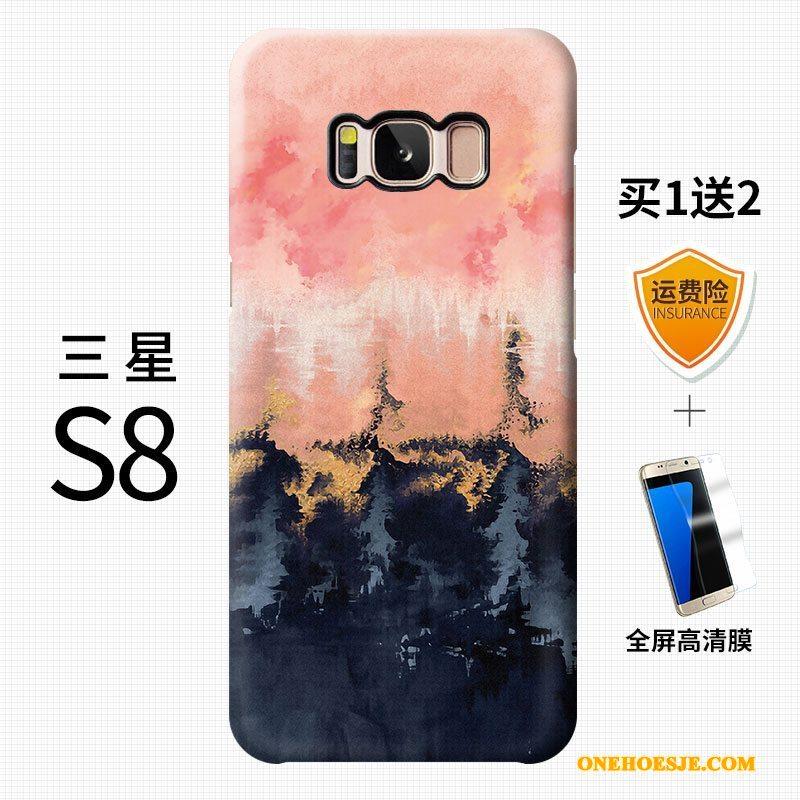 Hoesje Voor Samsung Galaxy S8+ Kleur Telefoon Hard Schrobben Scheppend Persoonlijk