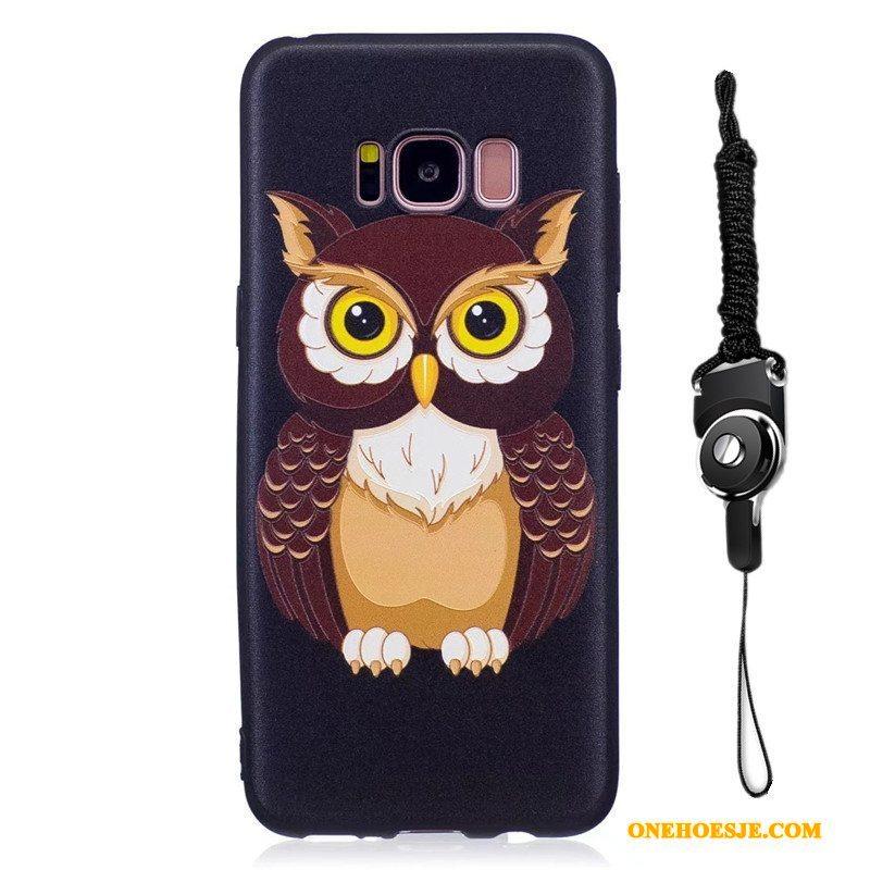 Hoesje Voor Samsung Galaxy S8+ Ster Zacht Bescherming Spotprent Hoes