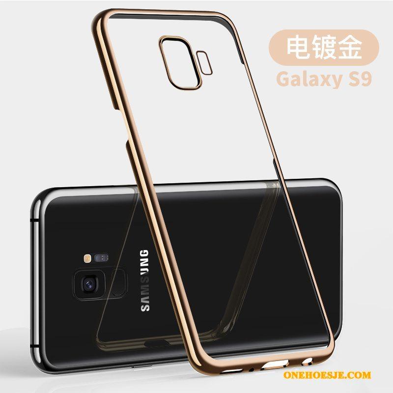 Hoesje Voor Samsung Galaxy S9 Purper Anti-fall Doorzichtig Ster All Inclusive Dun