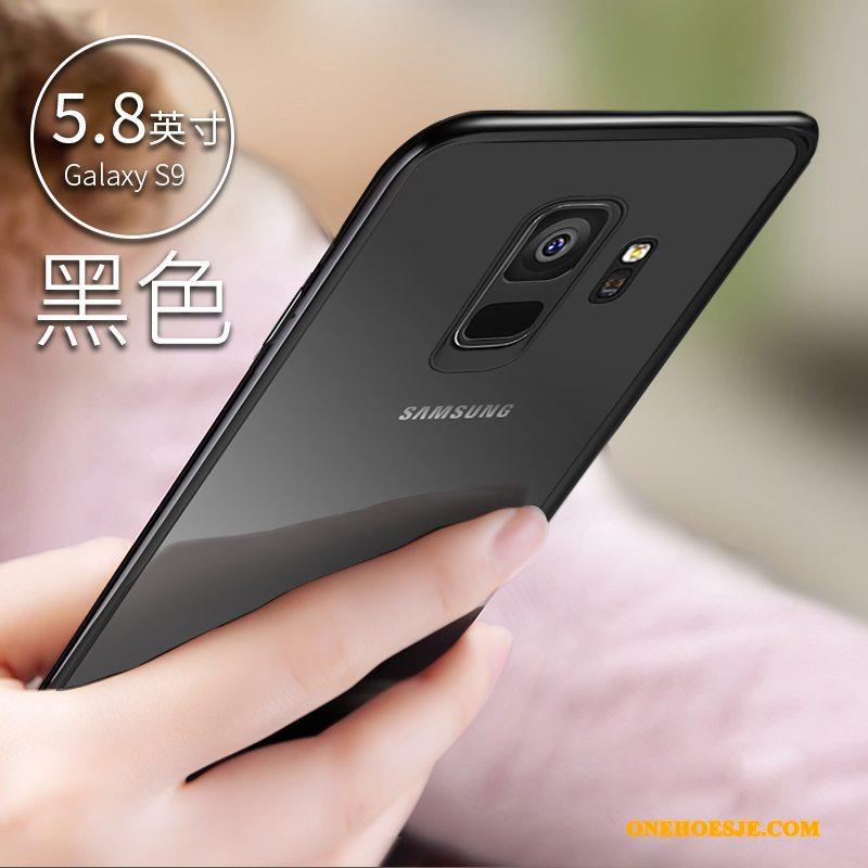 Hoesje Voor Samsung Galaxy S9 Siliconen Doorzichtig Bescherming Telefoon Anti-fall Ster