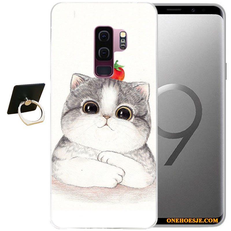 Hoesje Voor Samsung Galaxy S9+ Ster Telefoon Wind Zacht Reliëf Spotprent