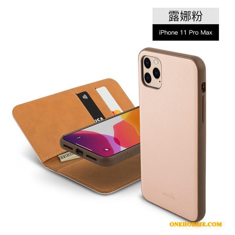 Hoesje Voor iPhone 11 Pro Max Folio Bescherming Anti-fall All Inclusive Telefoon