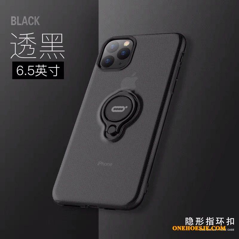 Hoesje Voor iPhone 11 Pro Max Groen Magnetisch Wit Anti-fall Telefoon Lichte En Dun