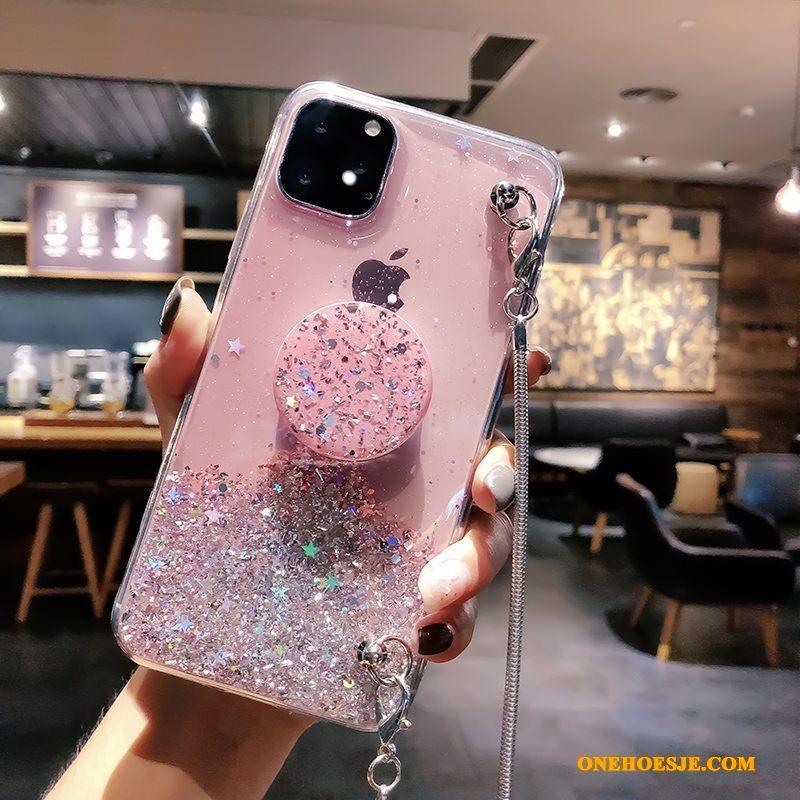 Hoesje Voor iPhone 11 Pro Max High End Trendy Merk Nieuw Siliconen Bescherming Doorzichtig