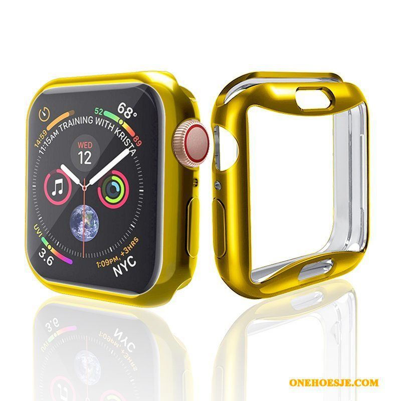 Hoesje Voor Apple Watch Series 2 All Inclusive Anti-fall Trend Accessoires Plating