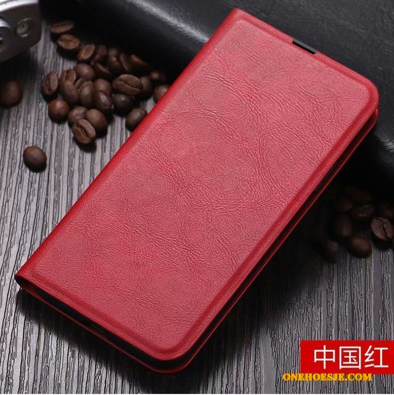Hoesje Voor Honor 30 Pro Anti-fall High End Rood Siliconen Folio Bescherming
