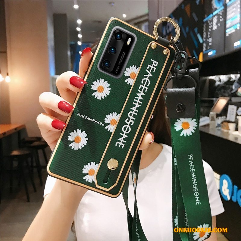Hoesje Voor Honor 30 Pro Hoes Anti-fall All Inclusive Madeliefjes Zacht