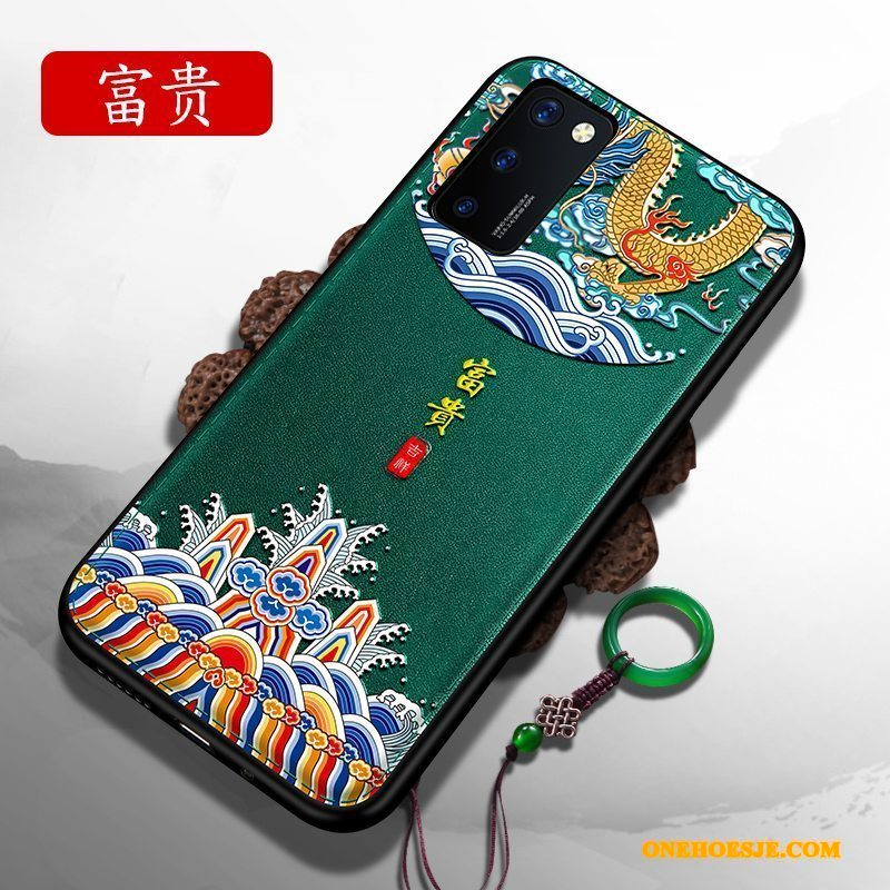 Hoesje Voor Honor 30 Pro Persoonlijk Zacht Chinese Stijl Siliconen Anti-fall All Inclusive