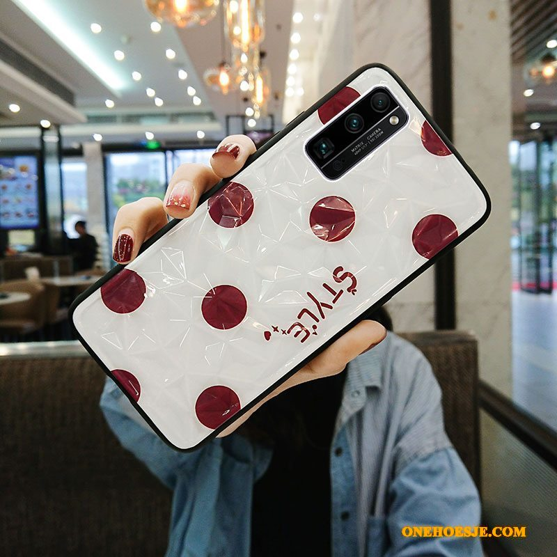 Hoesje Voor Honor 30 Pro Siliconen Anti-fall Schrobben All Inclusive Net Red