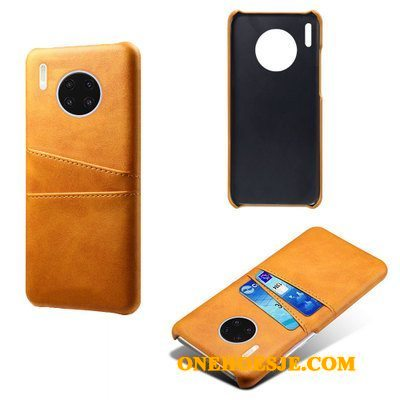 Hoesje Voor Huawei Mate 30 All Inclusive Leren Etui Telefoon Ring Anti-fall Patroon
