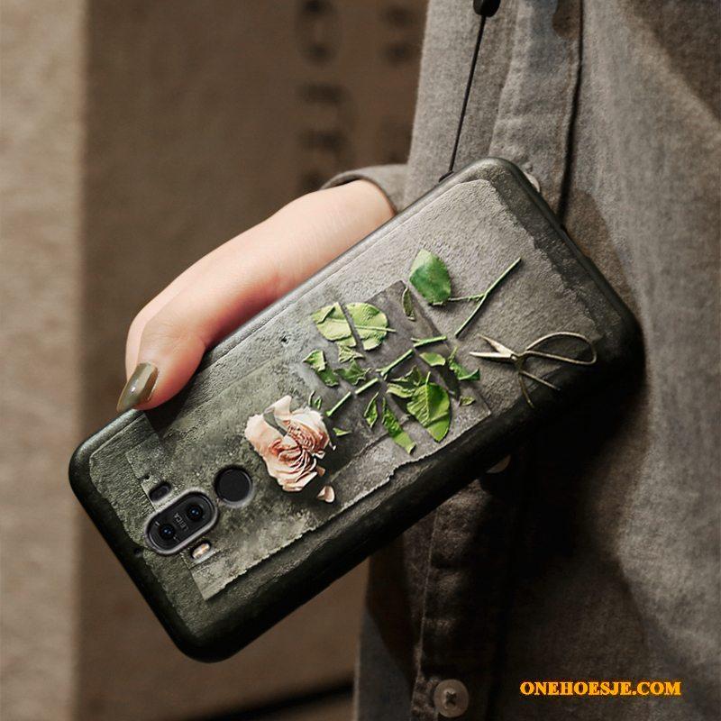Hoesje Voor Huawei Mate 9 Siliconen Bescherming Scheppend Persoonlijk Hoes Telefoon