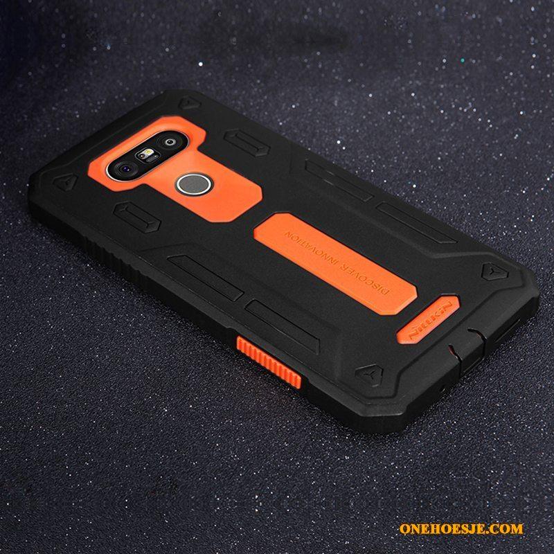 Hoesje Voor Lg G5 Mobiele Telefoon Bescherming Goud Telefoon Anti-fall