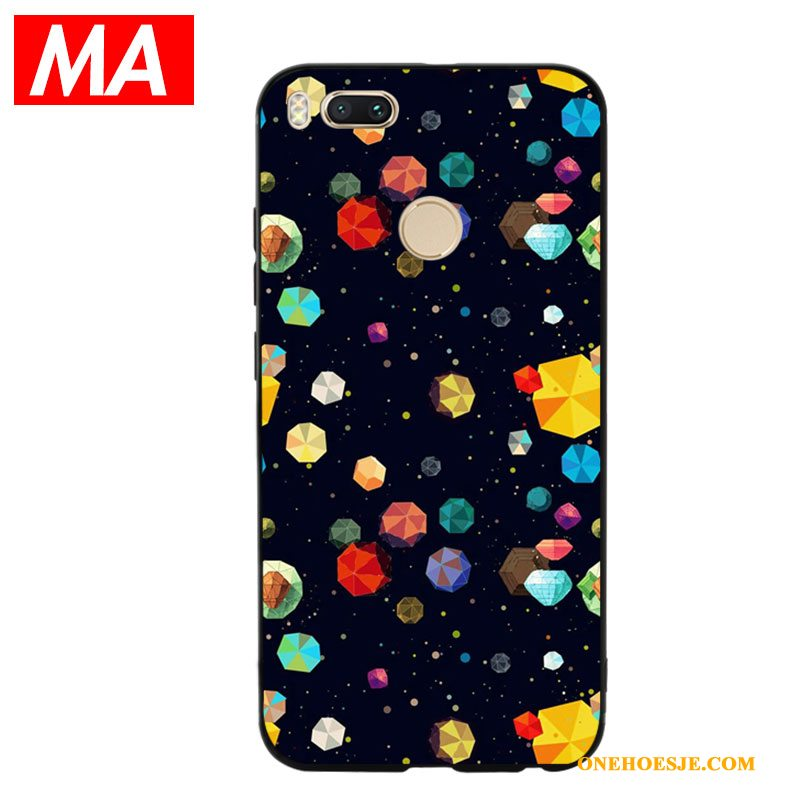 Hoesje Voor Mi 5x Mode Mini All Inclusive Telefoon Abstract Siliconen