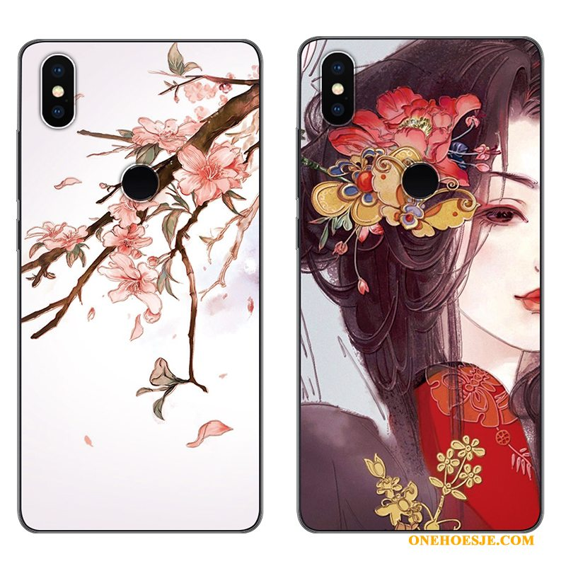 Hoesje Voor Redmi Note 5 Pro Anti-fall Hoes Siliconen Zacht All Inclusive Patroon