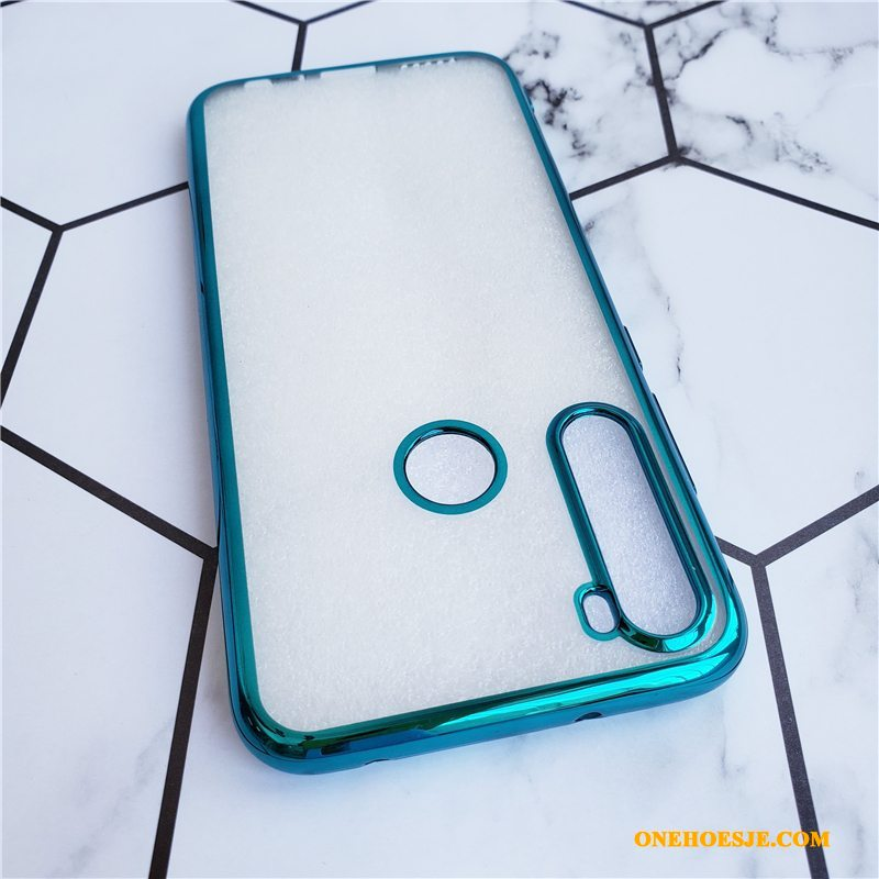 Hoesje Voor Redmi Note 8t Plating Zacht Anti-fall Siliconen Mini Hoes