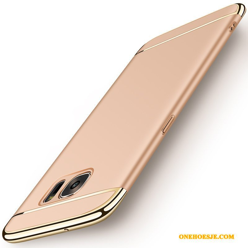 Hoesje Voor Samsung Galaxy A3 2016 Ster Hard Telefoon Goud Anti-fall All Inclusive