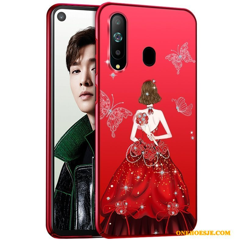 Hoesje Voor Samsung Galaxy A8s Bescherming Ster Hoes Hard All Inclusive Anti-fall